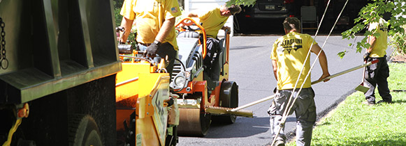 Driveway Pavement Workers